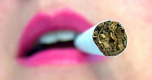 fumer bouche