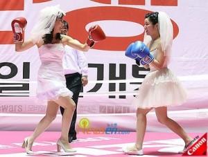 bagarre mariées