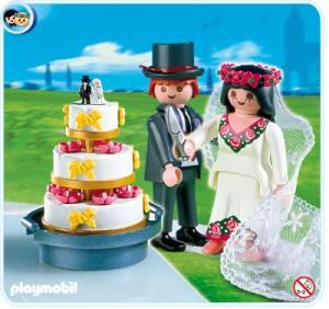 mariés playmobil