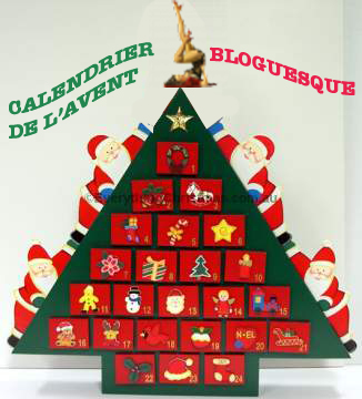 calendrier avent bloguesque
