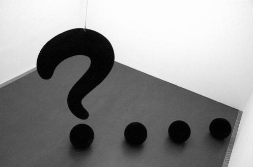 Point d'interrogation, question