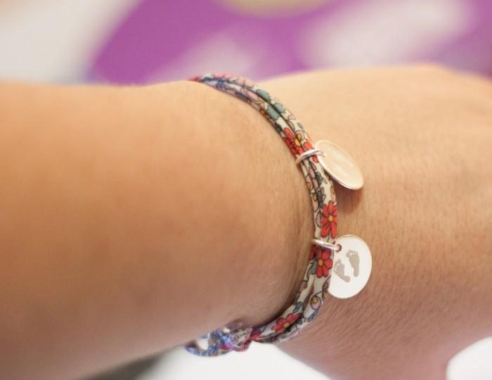 Bracelet empreintes bébé